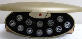 1999 STERLING SILVER PROOF MILLENNIUM SET