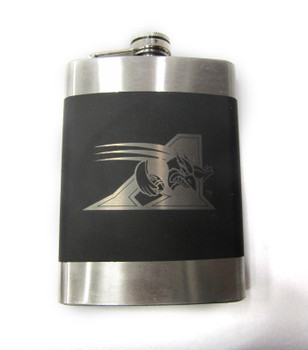 MONTREAL ALOUETTES CFL LASER ENGRAVED STAINLESS STEEL FLASK