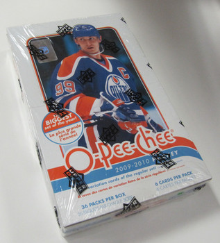 2009-10 UPPER DECK O-PEE-CHEE - 36 PACKS OF 6 CARDS