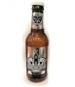 LA KINGS - NHL HOCKEY - BOTTLE COIN BANK