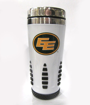 EDMONTON ESKIMOS - CFL FOOTBALL - HUNTSVILLE METAL TRAVEL MUG