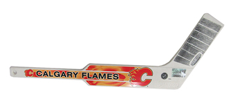 CALGARY FLAMES - NHL HOCKEY - MINI GOALIE STICK