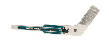 SAN JOSE SHARKS - NHL HOCKEY - MINI GOALIE STICK