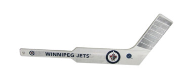 WINNIPEG JETS - NHL HOCKEY - MINI GOALIE STICK
