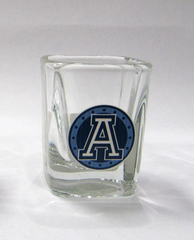 TORONTO ARGONAUTS - CFL FOOTBALL - SQUARE SHOT GLASS