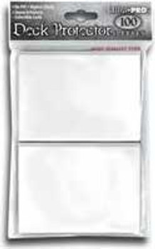 DECK PROTECTOR - STANDARD - 100 SLEEVES - WHITE