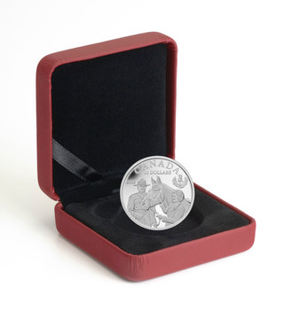 2012 $20 FINE SILVER COIN - THE QUEEN'S VISIT TO CANADA