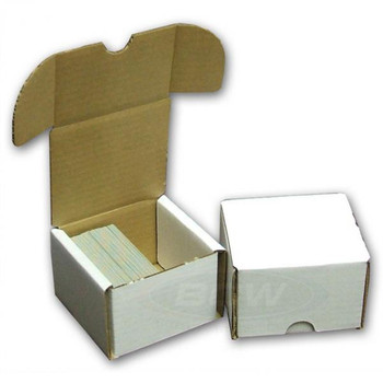 CARDBOARD STORAGE BOX - 200 CARDS