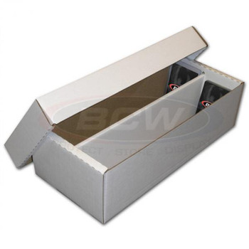 CARDBOARD STORAGE BOX - 1600 CARDS