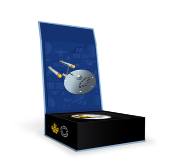 2016 $10 FINE SILVER COIN STAR TREK™: CAPTAIN KIRK