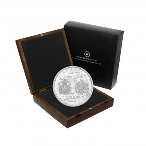 2013 $250 SILVER COIN - 250TH ANNIVERSARY OF THE END OF THE SEVEN YEARS WAR