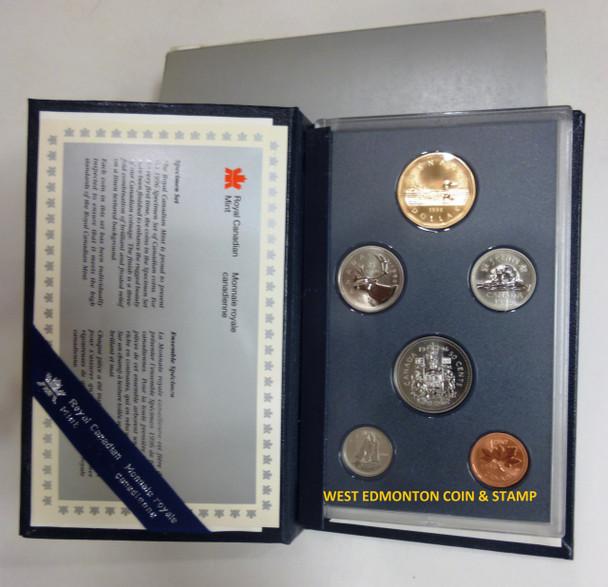 1996 6-COIN SPECIMEN SET
