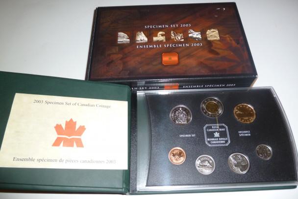 2003 7-COIN SPECIMEN  SET