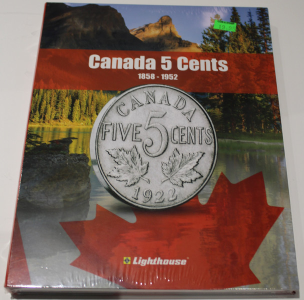 VISTA COIN BOOK CANADA 5 CENTS (NICKELS) - VOL 1 - 1858-1952