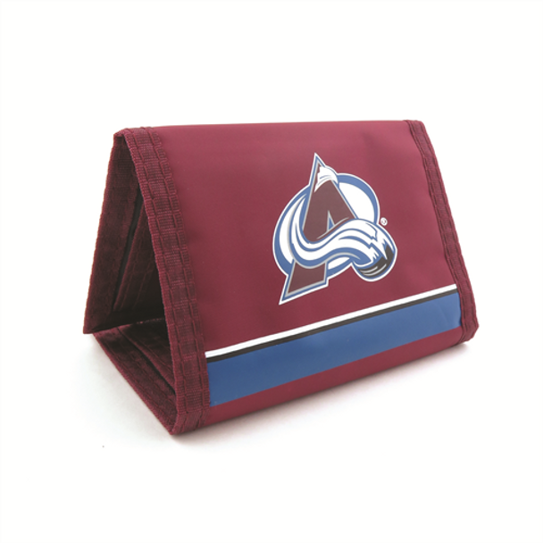 COLORADO AVALANCHE - NYLON TRI-FOLD WALLET