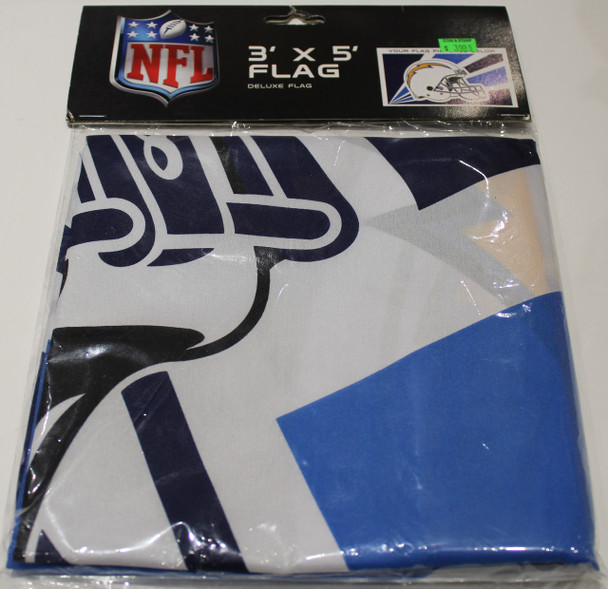 SAN DIEGO CHARGERS - POLYESTER FLAG - 3 X 5 FEET - INDOOR/OUTDOOR - BRAND NEW