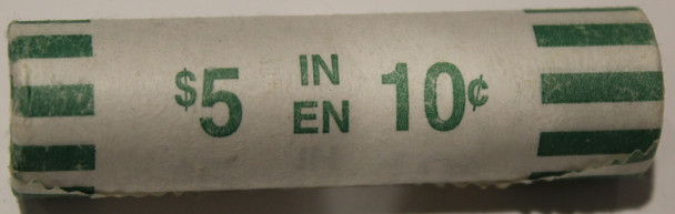 2004 'P' MINT MARK DIMES COIN ROLL  - SEALED IN ORIGINAL WRAP - 10 CENT