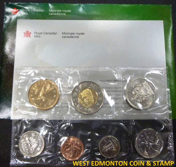2000 WINNIPEG UNCIRCULATED PROOF LIKE SET