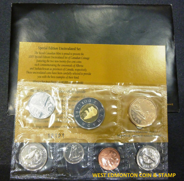 2005 PROOF LIKE SET SPECIAL EDITION