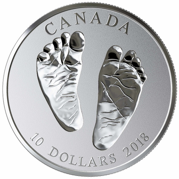 2018 $10 FINE SILVER COIN WELCOME TO THE WORLD!