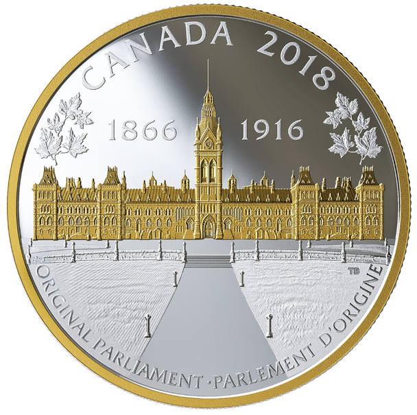 2018 FINE SILVER PUZZLE COIN SET CONNECTING CANADIAN HISTORY (1866-1916)