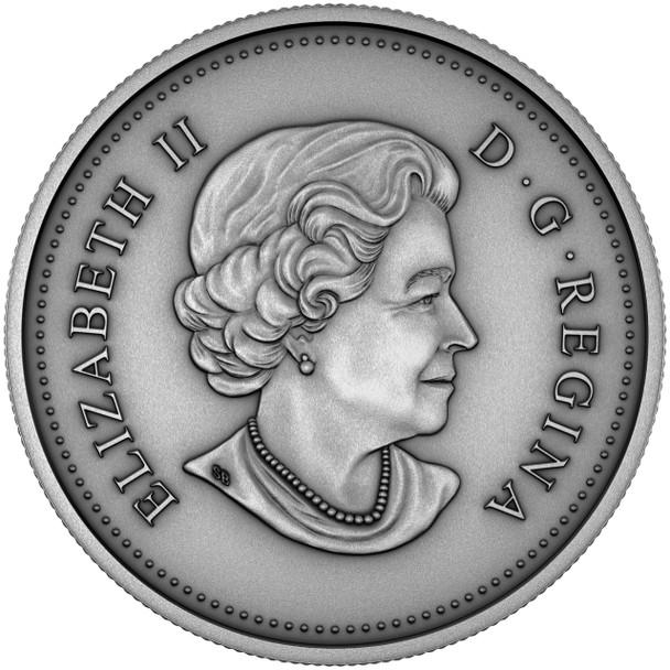 2018 $25 FINE SILVER COIN HER MAJESTY QUEEN ELIZABETH II: THE NEW QUEEN