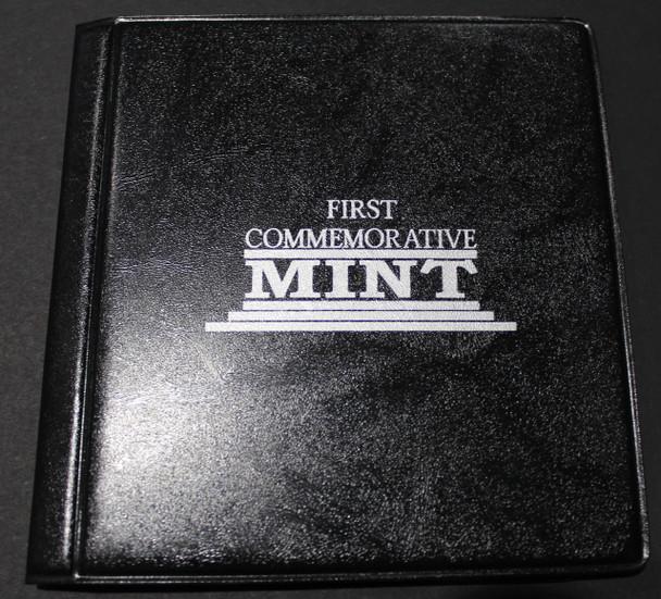 1989 SILVER MAPLE LEAF - .9999 1OZ. PURE SILVER - FIRST COMMEMORATIVE MINT FOLDER