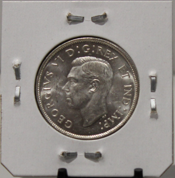 1943 CIRCULATION 50 - CENT COIN - WIDE DATE - UNGRADED - AS PICTURED
