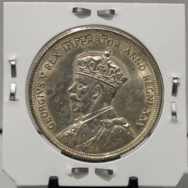 1935 CIRCULATION SILVER DOLLAR - COMMEMORATIVE SILVER FWL - GEORGE'S SILVER JUBILEE - UNGRADED - AS PICTURED