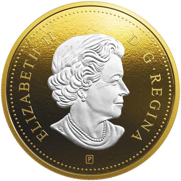 2019 5-OUNCE FINE SILVER COIN BIG COIN SERIES: 10-CENT COIN