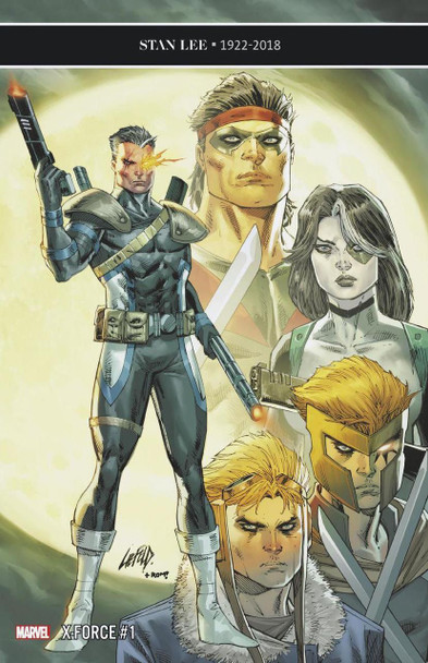 X-FORCE #1 LIEFELD 25 COPY INCENTIVE VARIANT COVER
