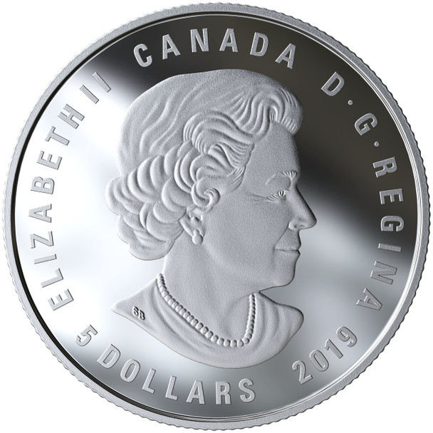 2019 $5 FINE SILVER COIN ZODIAC SERIES: PISCES