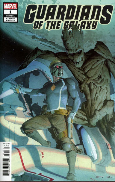 GUARDIANS OF THE GALAXY #1 50 COPY INCENTIVE RIBIC VARIANT COVER
