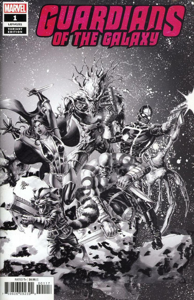 GUARDIANS OF THE GALAXY #1 DEODATO JR PARTY SKETCH VARIANT COVER