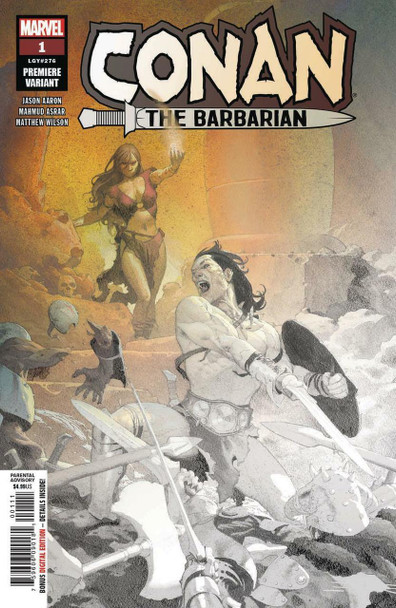 CONAN THE BARBARIAN #1 RIBIC PREMIUM VARIANT COVER