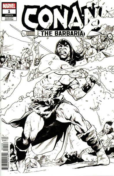 CONAN THE BARBARIAN #1 ASRAR RARE VARIANT COVER