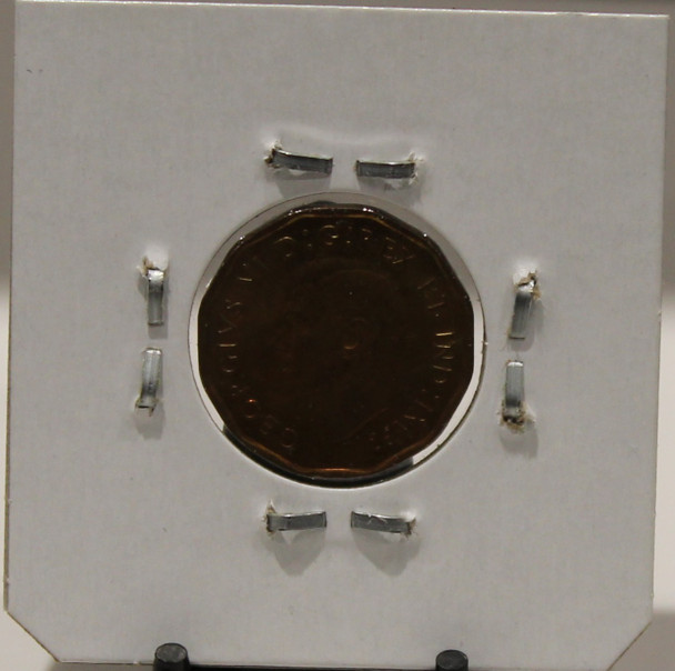 1942 CANADIAN FIVE-CENT - TOMBAC - UNGRADED - AS PICTURED