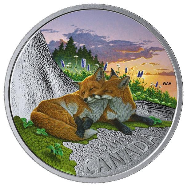 2019 $20 FINE SILVER COIN CANADIAN FAUNA: THE FOX