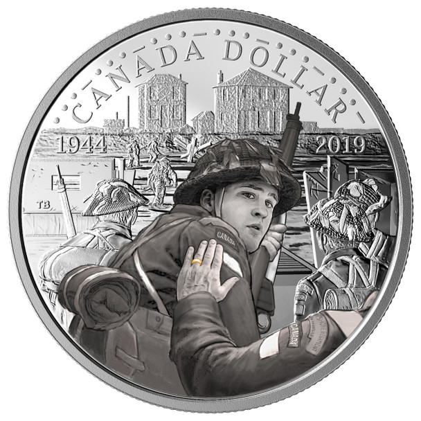 2019 SPECIAL EDITION FINE SILVER DOLLAR PROOF SET - 75TH ANNIVERSARY OF D-DAY