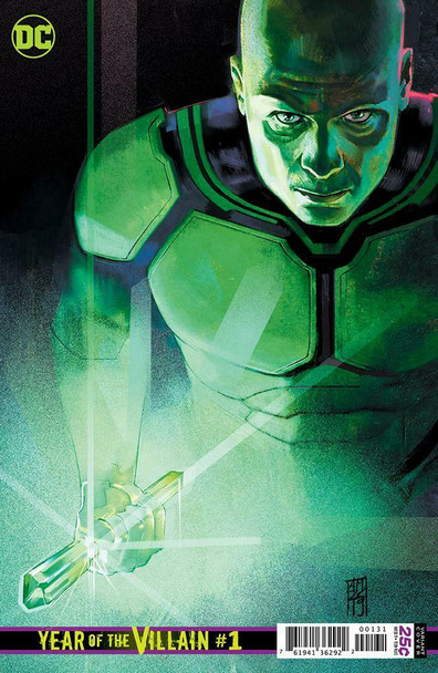 DC'S YEAR OF THE VILLIAN #1 1 IN 250 LEX LUTHOR VARIANT COVER