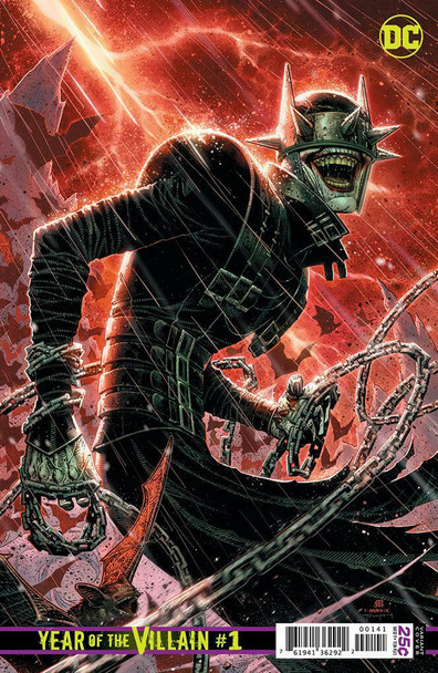 DC'S YEAR OF THE VILLIAN #1 BATMAN WHO LAUGHS 1 IN 500 JIM CHEUNG VARIANT COVER