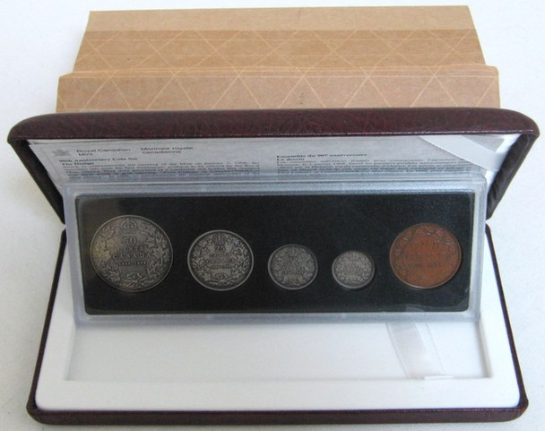SALE - 1998 COMMEMORATIVE ANTIQUE FINISH PROOF SET - 90TH ANNIVERSARY