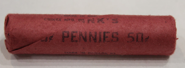 1967 CONFEDERATION 1-CENT ROLL (RED ROLL)