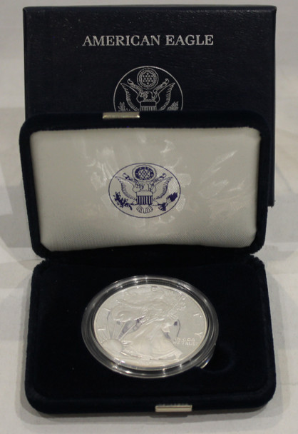 2007 AMERICAN EAGLE ONE OUNCE SILVER PROOF COIN