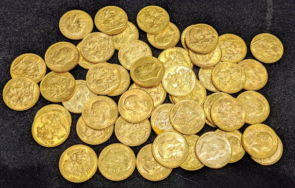 1 Gold Sovereign 1902-1925 (Our Choice) .917 Pure