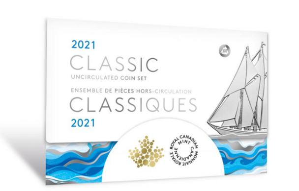 2021 CLASSIC CANADIAN UNCIRCULATED SET
