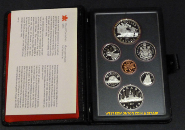 1981 PROOF DOUBLE DOLLAR SET