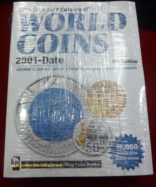 2014 STANDARD CATALOG OF WORLD COINS - 2001 TO DATE - 8TH EDITION