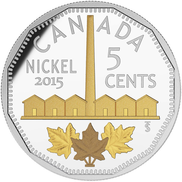 2015 5-CENT FINE SILVER COIN LEGACY OF THE CANADIAN NICKEL: THE IDENTIFICATION OF NICKEL