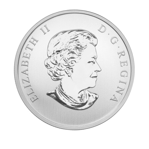 2015 25-CENT COIN HAUNTED CANADA: BRAKEMAN
